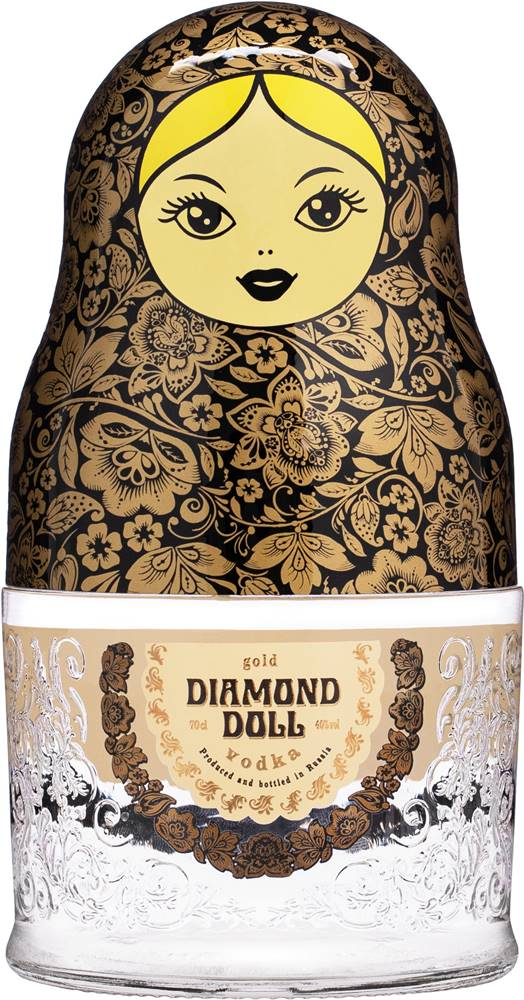 Diamond Doll Diamond Doll Zlatá 40% 0,7l