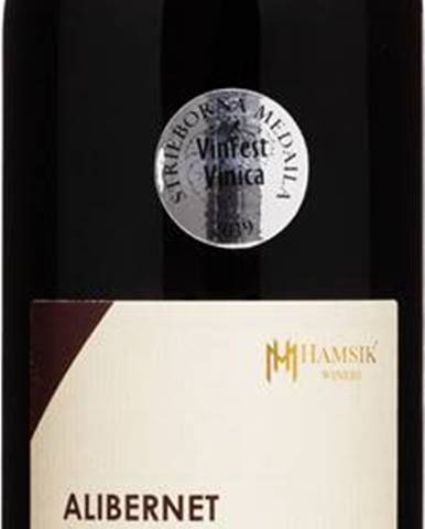 Víno červené Hamsik Winery