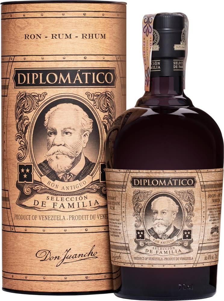 Diplomático Diplomático Selección de Familia 43% 0,7l