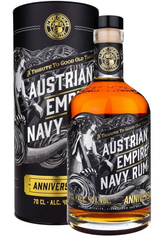 Austrian Empire Austrian Empire Navy Rum Anniversary 40% 0,7l