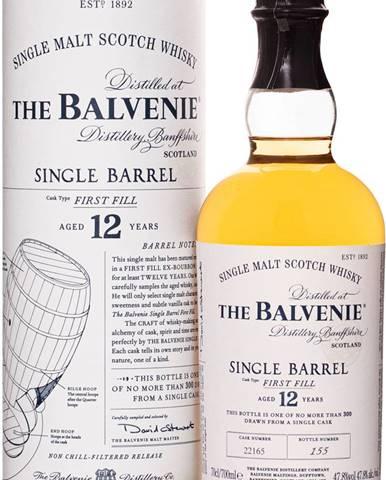 The Balvenie 12 ročná Single Barrel 47,8% 0,7l