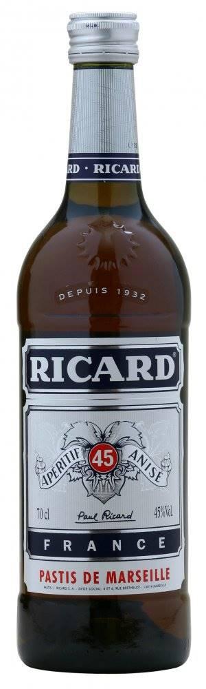 Ricard Pastis Ricard 0,7l 45%