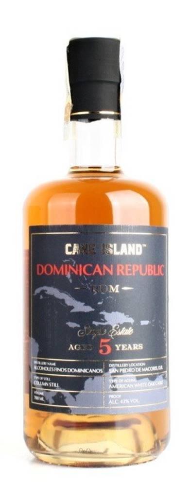Cane Island Cane Island Dominican Rum 5y 0,7l 43%