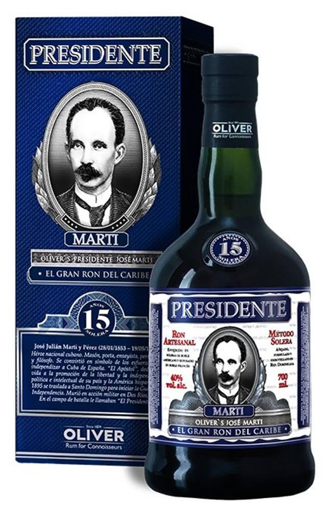 Presidente Marti 15y 0,7l 40%