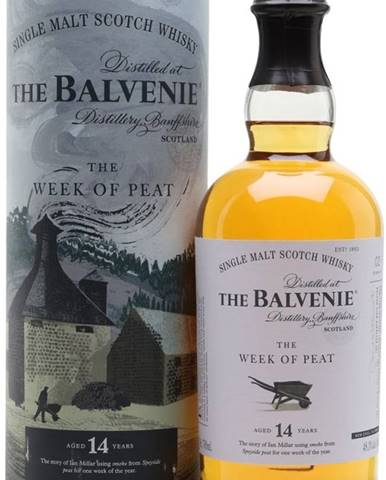 Balvenie The Week of Peat 14y 0,7l 48,3% GB