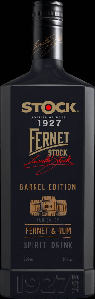 Fernet Stock Fernet Stock Barrel Edition 0,5l 35%