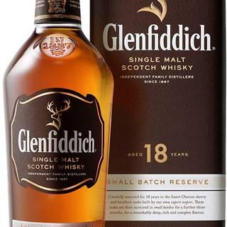 Glenfiddich 18 ročná 40% 0,7l