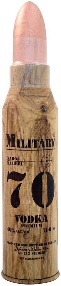 Debowa Debowa Military 70 Premium Vodka 40% 0,7l