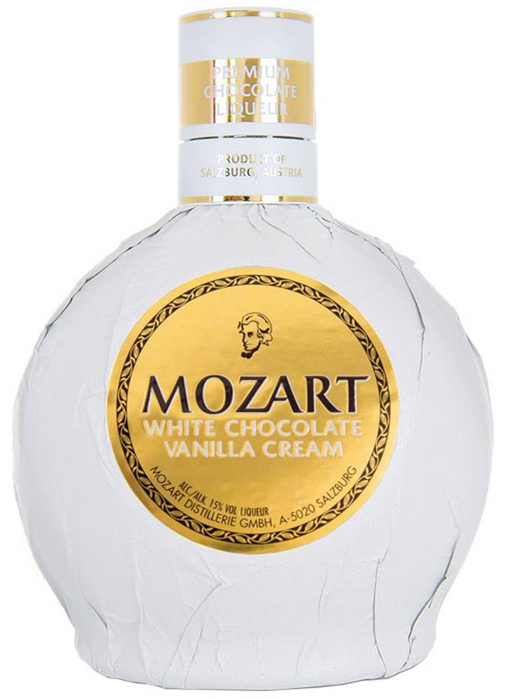 Mozart Mozart White Chocolate Vanilla Cream 15% 0,5l