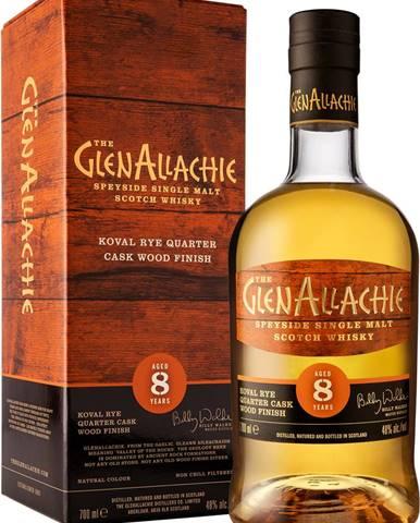 The GlenAllachie 8 ročná Rye Wood Finish 48% 0,7l