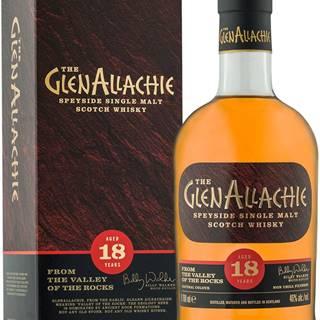 The GlenAllachie 18 ročná 46% 0,7l