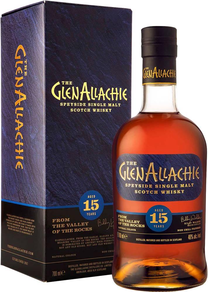 The GlenAllachie The GlenAllachie 15 ročná 46% 0,7l