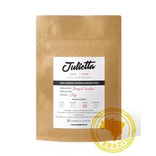 Julietta Brazil Santos  čerstvo pražená zrnková káva 250 g