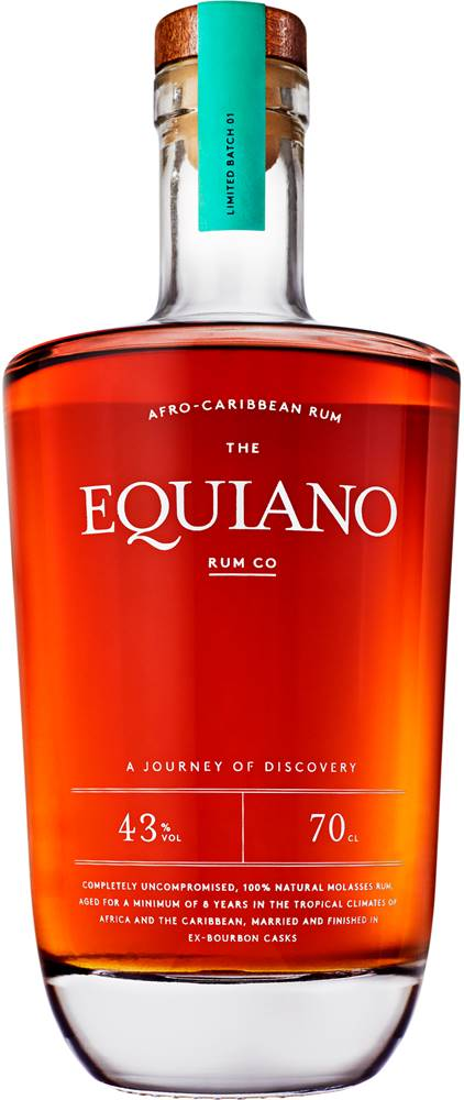 Equiano Equiano Rum 43% 0,7l