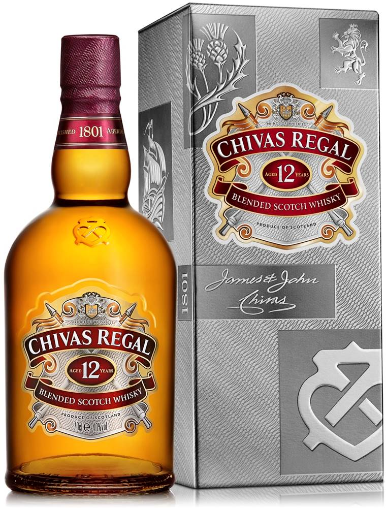 Chivas Chivas Regal 12 ročná 40% 0,7l