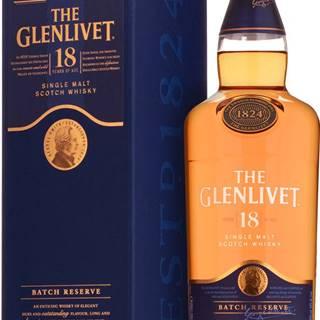 The Glenlivet 18 ročná 40% 0,7l
