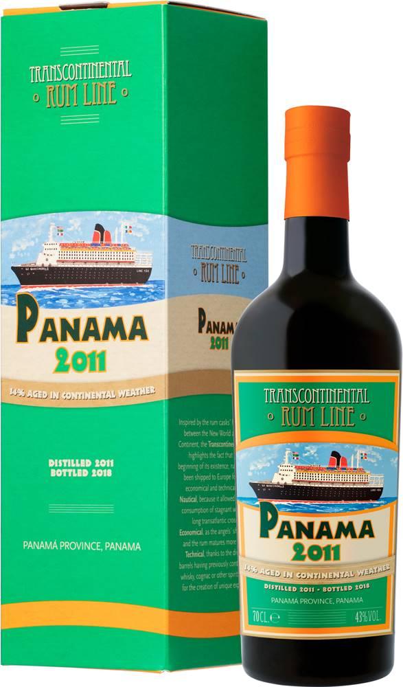 Transcontinental Rum Line Transcontinental Rum Line Panama 2011 43% 0,7l